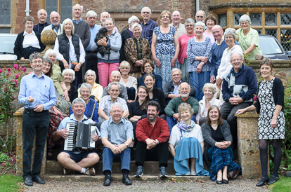 Group Photo from October 2015 Halsway Manor Weekend